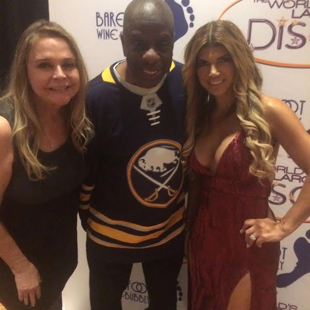 Me and Jimmy Walker and Theresa from NJHW at the Big Disco Party in Buffalo, NY over the weekend.