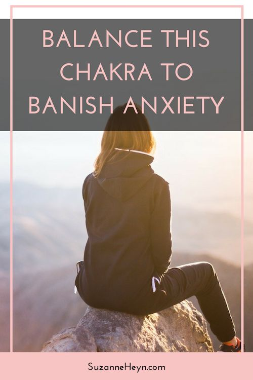 Pin now, read later! Discover which chakra relates to anxiety, and how to balance it for relief. yoga spirituality meditation peace love healing