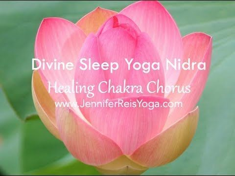Love Yoga Nidra so very much! My go-to for when I need to deeply relax or when I absolutely cannot sleep.   YOGA NIDRA: Divine Sleep Yoga Nidra -- Healing Chakra Chorus - YouTube