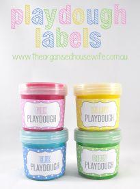 Home-made Playdough » The Organised Housewife