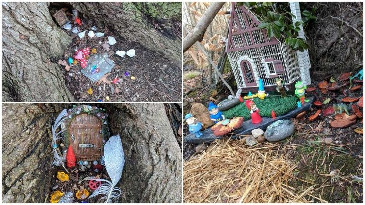 'Gnome' Village Found in Bellmore's Mill Pond Park
