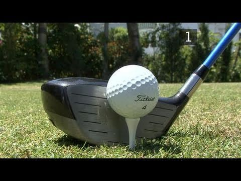 Tee it Up - Are You Doing It Correctly?     Are you teeing the ball up correctly? It seems unimportant, but you'd be surprised how much better contact you'll have when you do it properly!     Here is a great tip on how to tee up irons and drivers off the tee.