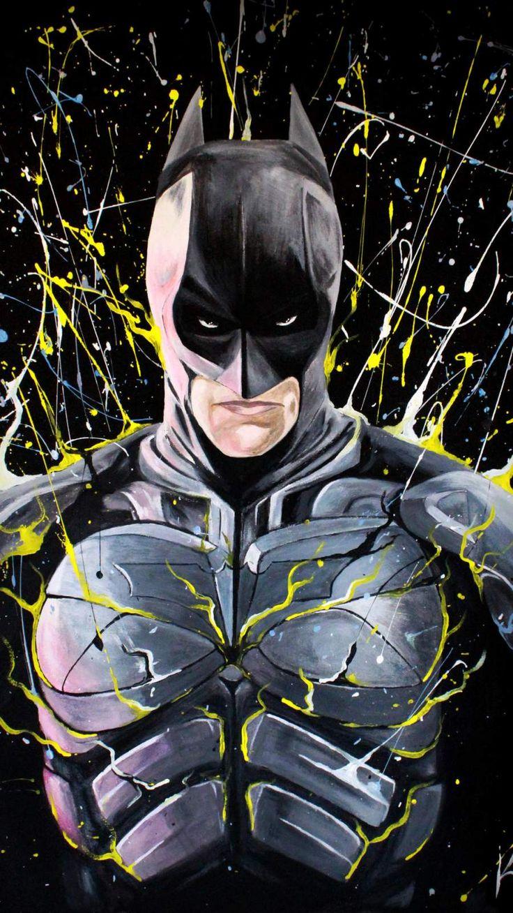 Batman Paint Art IPhone Wallpaper wallpaper wallpapers