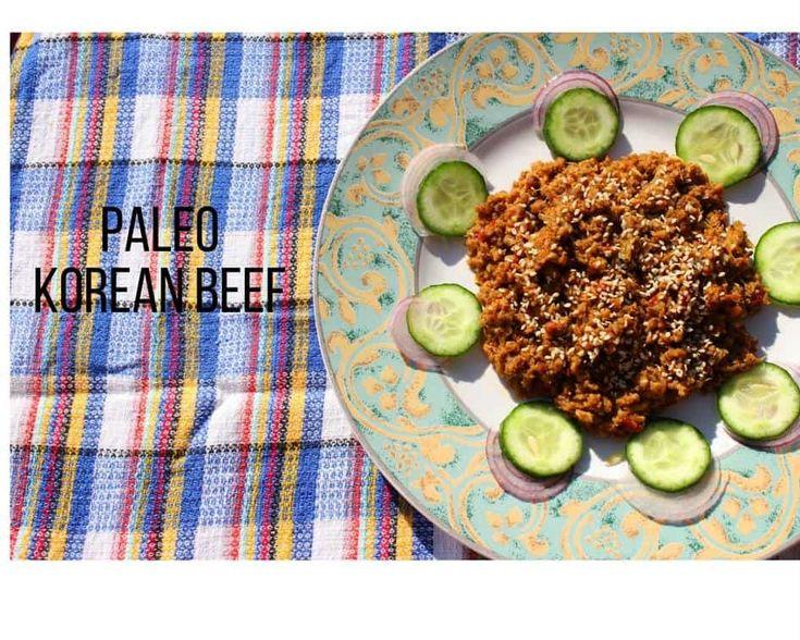 Paleo Korean Beef - Karen Martel Nutrition