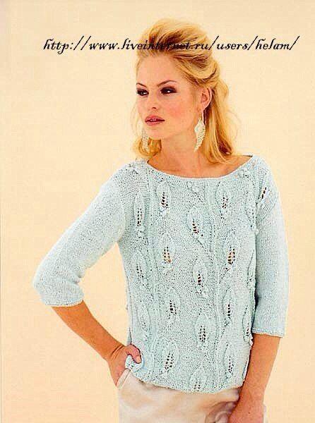 Пуловеры с ли точками - Жакеты,полуверы, свитера