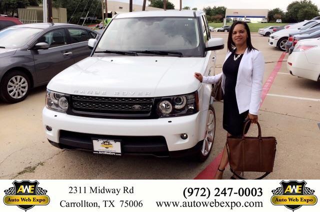 Congratulations Lisa on your #Land Rover #Range Rover Sport from Aime Cruz at Auto Web Expo Inc!  https://deliverymaxx.com/DealerReviews.aspx?DealerCode=J789  #AutoWebExpoInc
