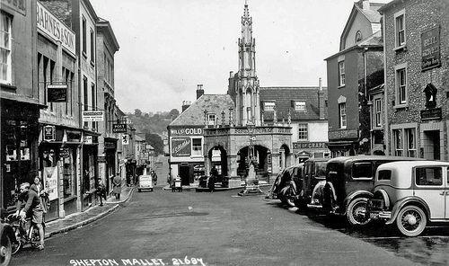 Market Cross, Shepton Mallet, Somerset, England.