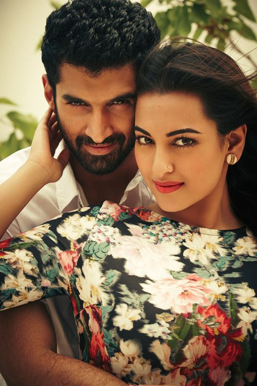 Aditya Roy Kupar, Sonakshi Sinha #Photoshoot #Fashion #Hot #Bollywood #India #AdityaRoyKapur #SonakshiSinha