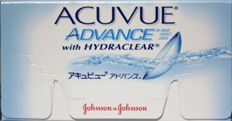 Find low prices on Acuvue Advance Contact Lenses from Johnson & Johnson at e2eopticians online store. These are 2 week disposable contact lenses order them online with comfort from your home with quick delivery.