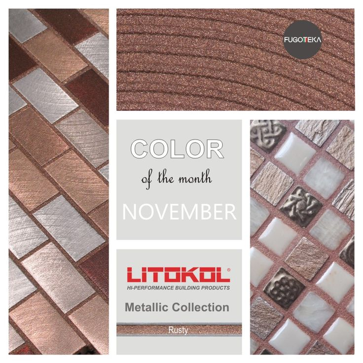 Color November -Litokol Starlike Metalic Rusty