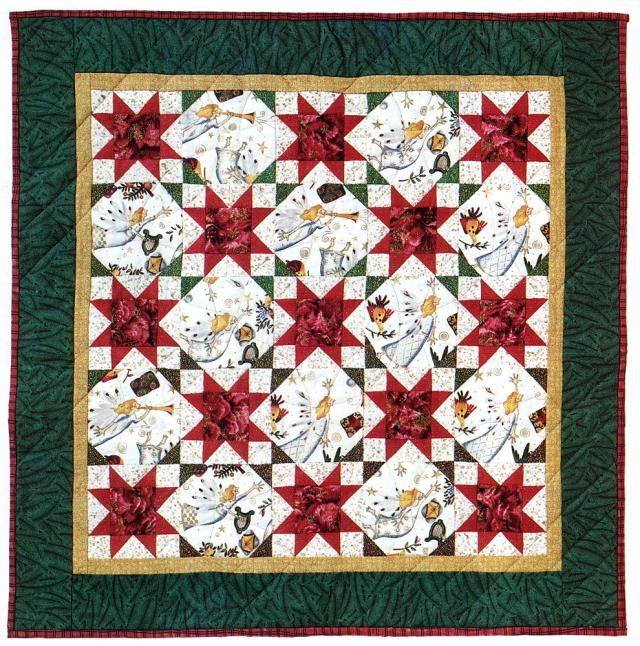 Christmas Quilts Photo Gallery: A Joyous Celebration Christmas Quilt