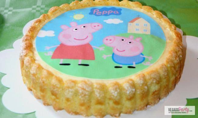 Relizza una deliziosa torta di compleanno di Peppa Pig, bella e buona!