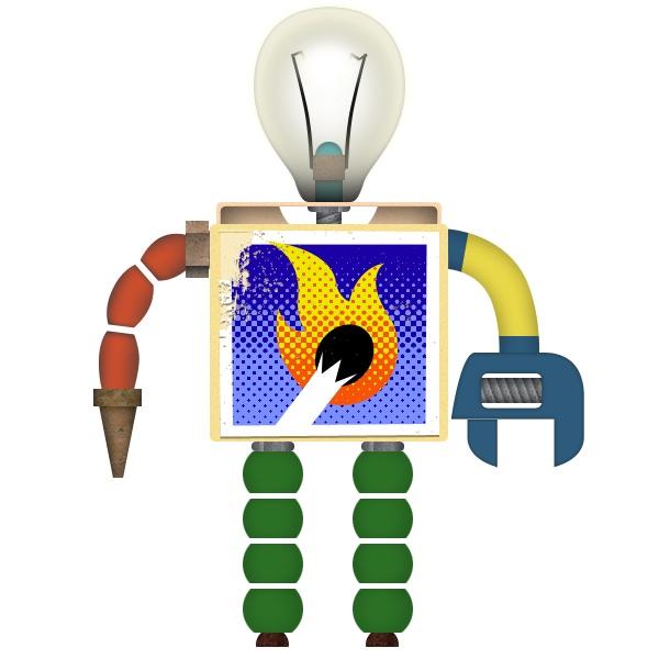 A robot in Toca Robot Lab by Toca Boca. http://itunes.apple.com/us/app/toca-robot-lab/id434826169?mt=8=1
