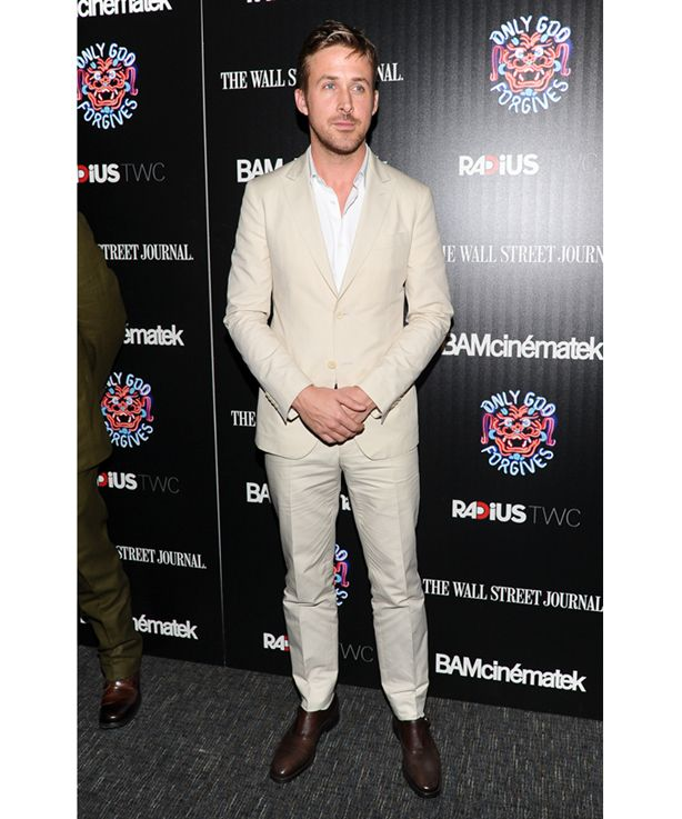 Ryan Gosling in Ferragamo