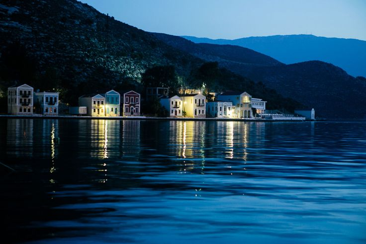 Kastelorizo by night! The most romantic atmosphere for a wonderful wedding! :)