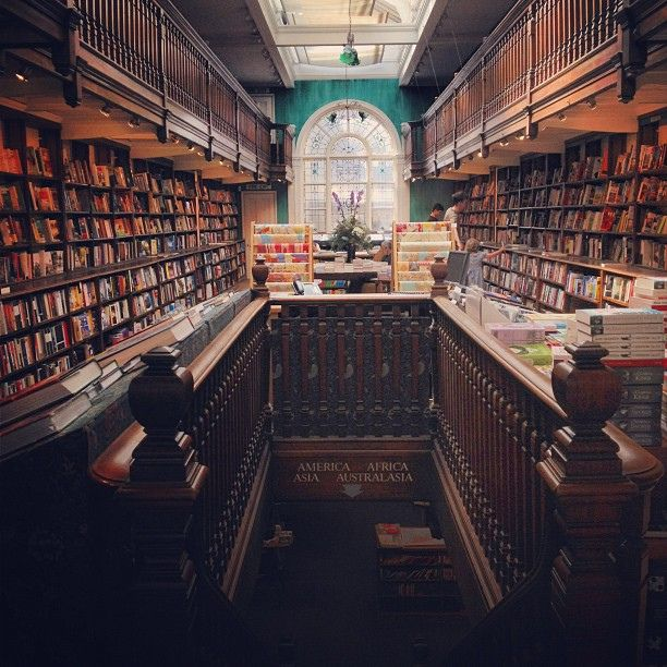 Daunt Books in Marylebone High Street, one of my favourite places.