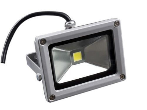 Laykor 10 Watt (10W) LED Weatherproof Floodlight Outdoor Security Flood Light, 85-265V AC, Cool White by Laykor. $17.99. This long life LED light is your energy saving and healthy choice. Suitable for different applications such as sign illumination, for up-lighting, to light pathways, to accent trees, lawns and landscaped areas, signs/billboards, building interiors/exteriors, and large objects such as building murals, statues, aquarium reef coral tanks and America...
