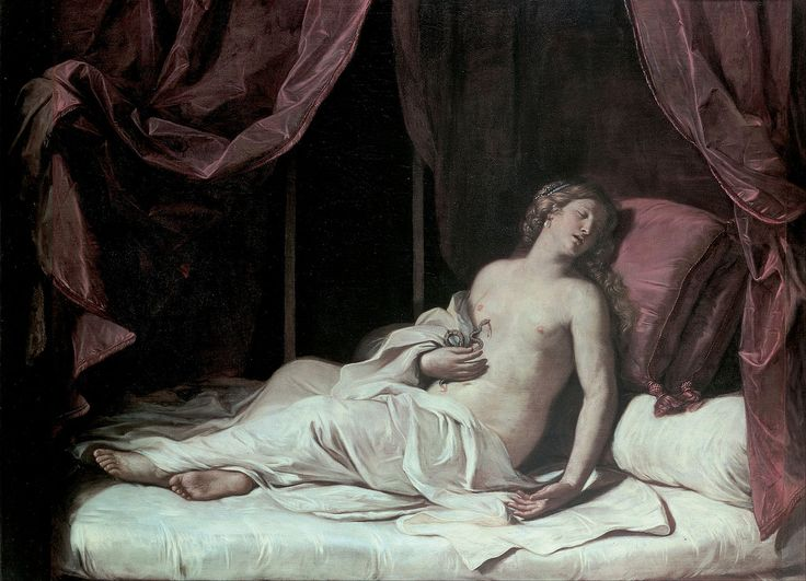 Death of Cleopatra, Guercino