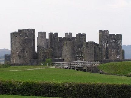 A big Castle of gales is sow beutiful