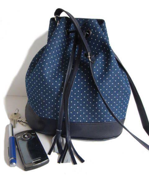 Tutoriel de couture sac seau Louise chez Makerist patron en français