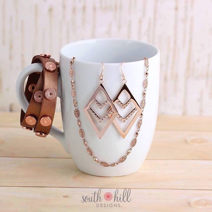 Rose Gold Two Day Temptation Chevron South Hill Designs