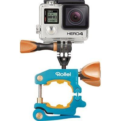 Chollo Amazon España: Fijación en bicicletas para Rollei Actioncam y GoPro Rollei Bike Pro Mount por 62,51€ (37% de descuento sobre el PVR y precio mínimo)