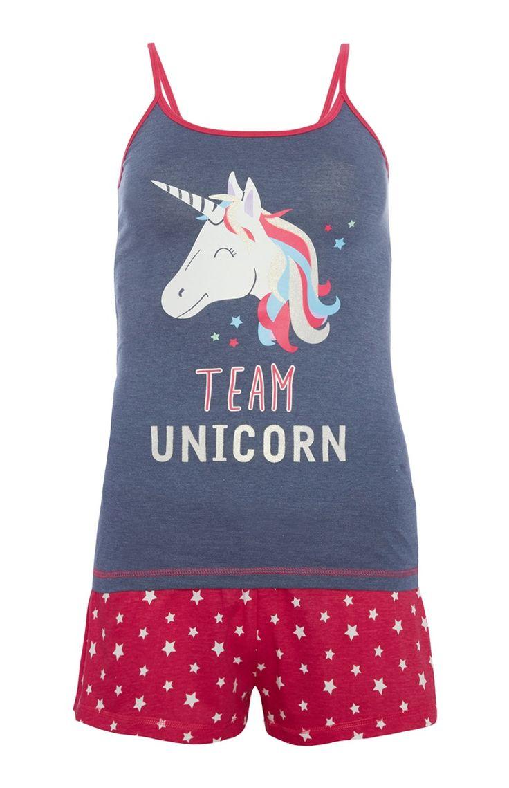 Pyjamaset Team Unicorn