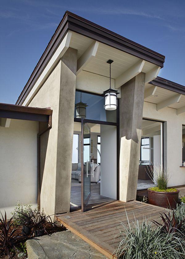 Contemporary remodel overlooking the ocean in Santa Barbara