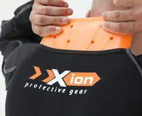 Gilet de protection moto manches longues Xion PG Long Sleeve Jacket et dorsale D30