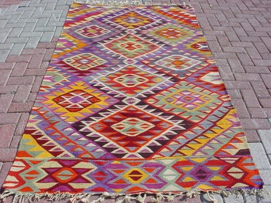 bright and breezy, cheap and cheerful Turkish rugs - great for kids playrooms