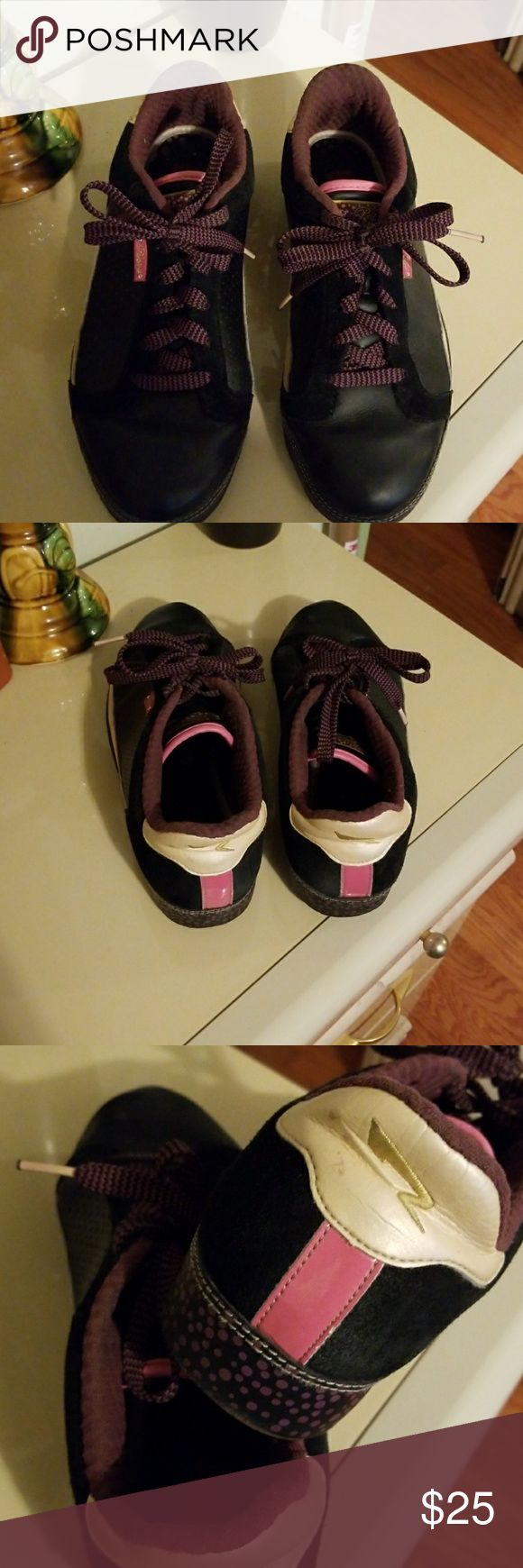 Sneakers Pastry black pink purple & cream Pastry Shoes Athletic Shoes