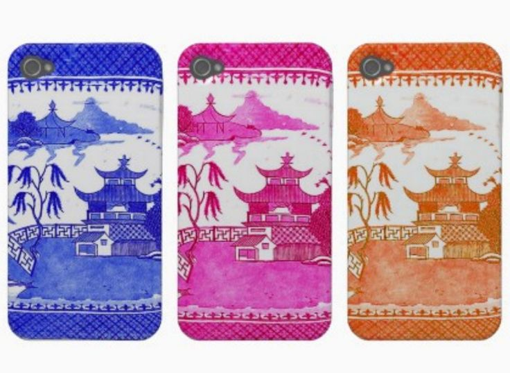 The Pink Pagoda is my latest obsession. I recently found these iPhone covers and thought they couldn't be cuter...       Guess what color ...