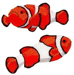 Floating Fish  - SINGER Free embroidery designs