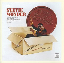 Stevie Wonder: Signed, Sealed & Delivered - Stevie Wonder, piano & vocals. - Daedalus Books Online