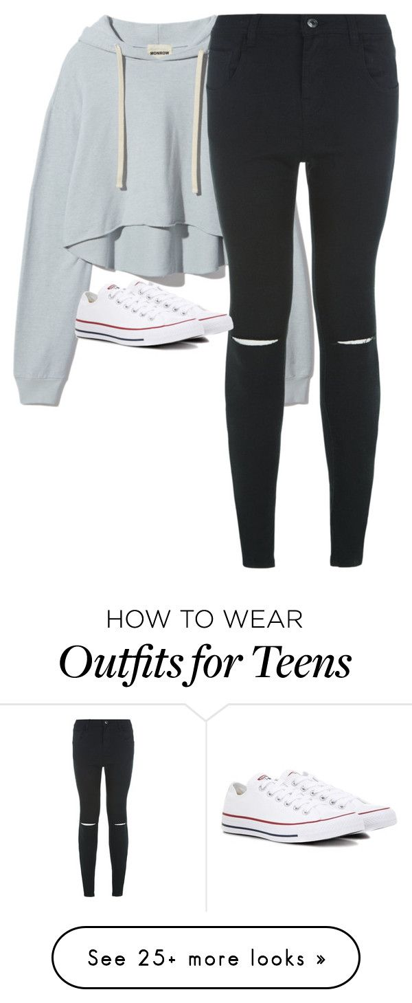 Relax By Lilli1da3leo On Polyvore Featuring New Look And Converse