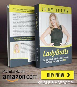 Jody Jelas Lady Balls Book Available on Amazon.