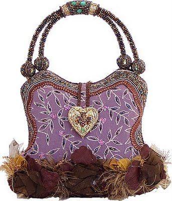 Mary Frances Handbag - Berry Beautiful