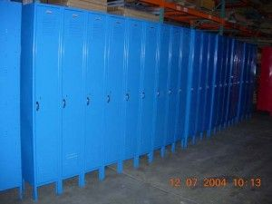 How To Paint And Repair A Dent In A School Locker, Military Locker, Gym Locker Or Any Other Metal Locker - School Lockers Blog