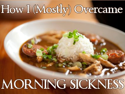 """""""How I mostly Overcame Morning Sickness"""" - she learned this on her SIXTH pregnancy, so I count her to be a pro! (Jennifer Fulwiler)"""