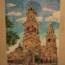 Catedral de Morelia. Arte plumario del cielo a la tierra