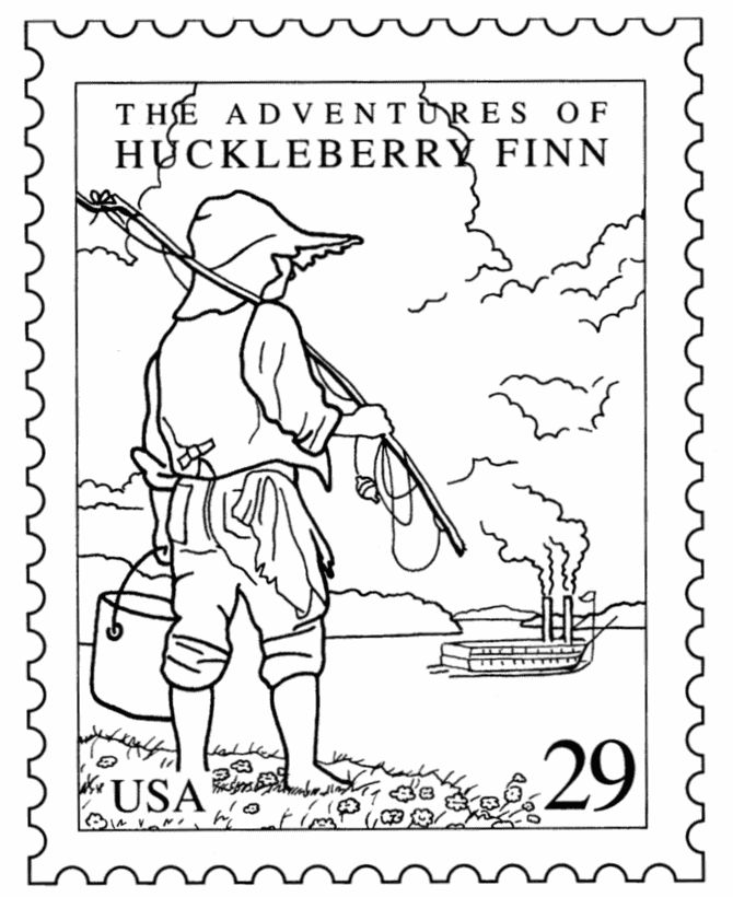 postal coloring pages - photo#27