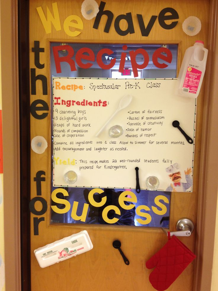 Classroom Decoration Ideas Quotes ~ Best ideas about recipe for success on pinterest