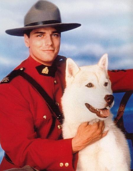 I love Constable Benton Frasier and Diefenbaker!