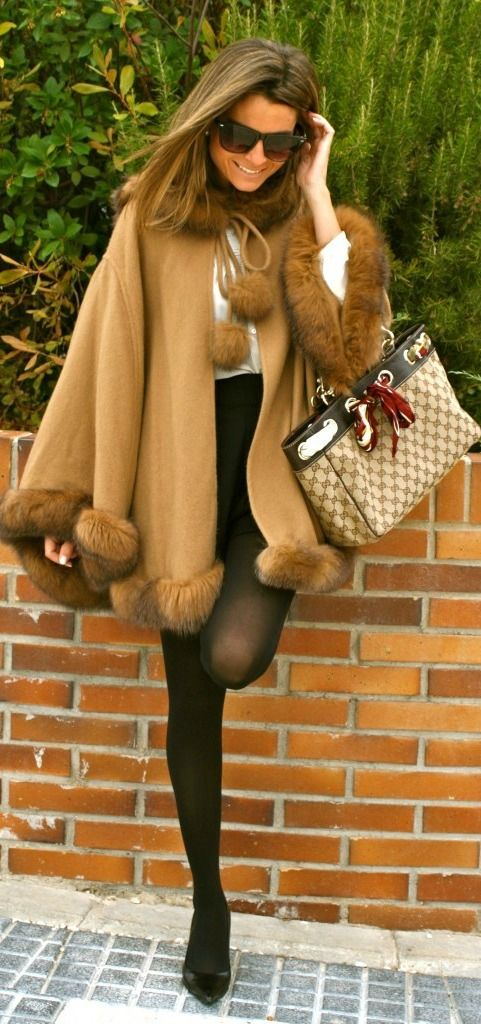 Playful! It would look even better with long boots and skin color tights which are more appropriate in France. *gucci
