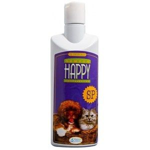 PASTEUR Şampon pentru câini şi pisici Happy SP antiparazitar 200ml