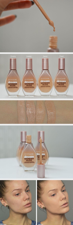 Linda testar – Dream Wonder Nude Fluid-Touch foundation