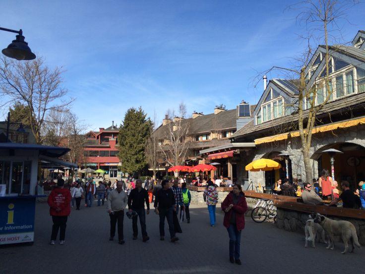 Whistler Village in British Columbia