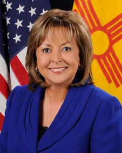 Governor Susana Martinez of the State of New Mexico. First Female Hispanic governor in the USA.