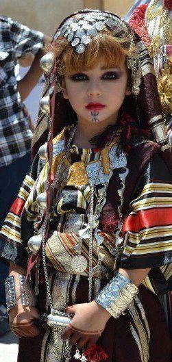 ALGERIE, Terre d'Afrique: Coup de Coeur : Tenue traditionnelle Chaoui #berber #amazigh #tuareg #lifestyle