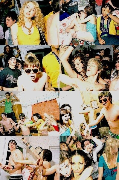 Skins - the show where they really show how teenagers really party!